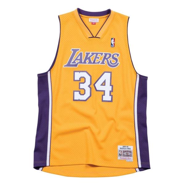 Shaq O'Neal #34 Los Angeles Lakers 1999-00 Swingman NBA Trikot