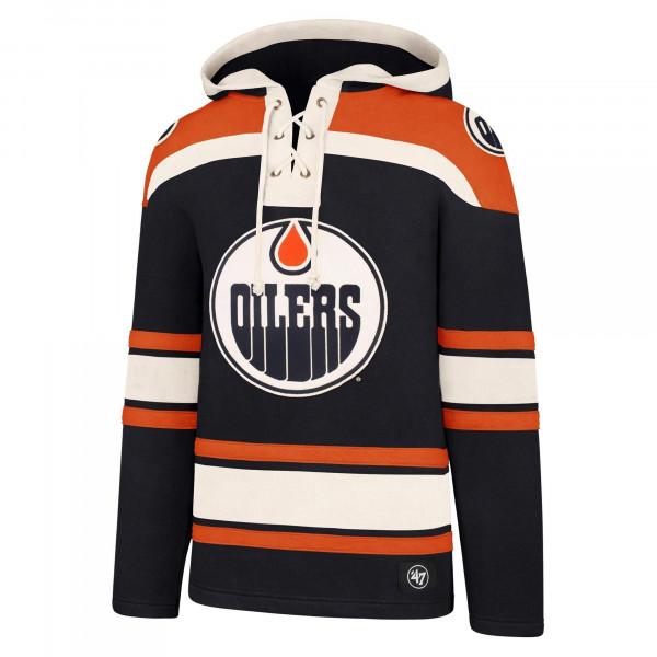 Edmonton Oilers Lacer Jersey Hoodie NHL Sweatshirt