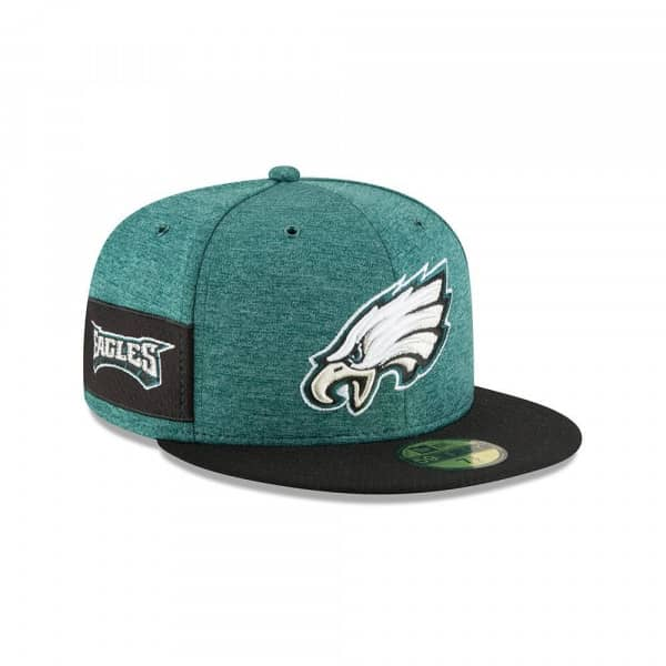 wholesale dealer 93db1 c43d7 New Era Philadelphia Eagles 2018 NFL Sideline 59FIFTY Fitted Cap Home    TAASS.com Fan Shop