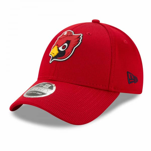 St. Louis Cardinals 2021 MLB Authentic Clubhouse New Era Stretch-Snap 9FORTY Cap