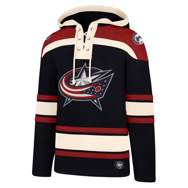 Columbus Blue Jackets Lacer Jersey Hoodie NHL Sweatshirt