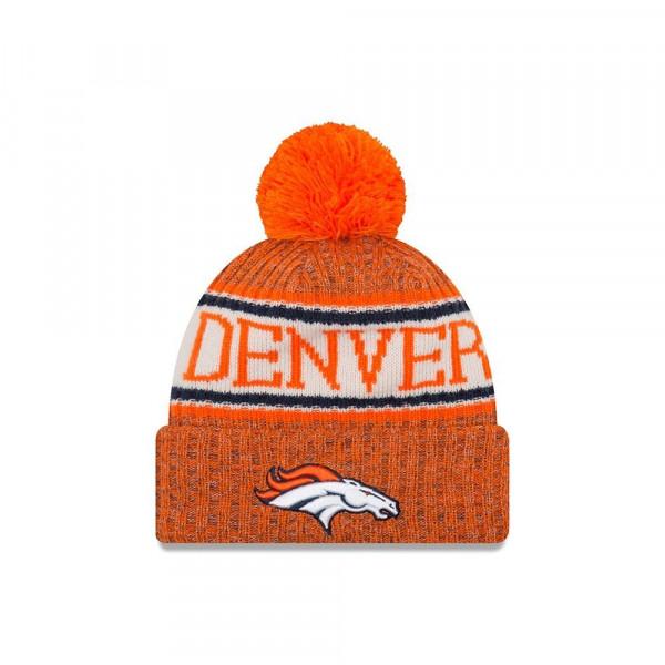 Denver Broncos 2018 Sideline Sport Knit NFL Wintermütze