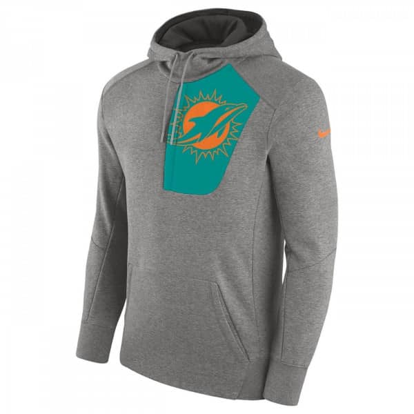 Miami Dolphins Fly Fleece Hoodie NFL Sweatshirt