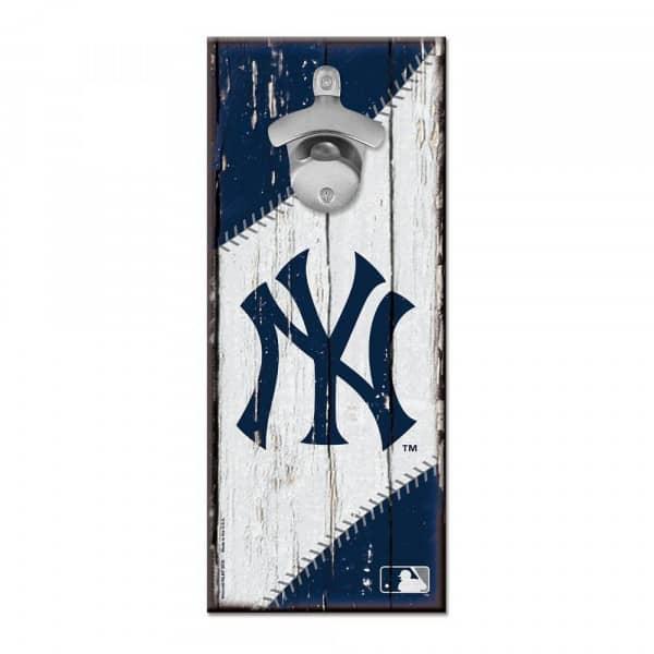 New York Yankees MLB Schild mit Flaschenöffner