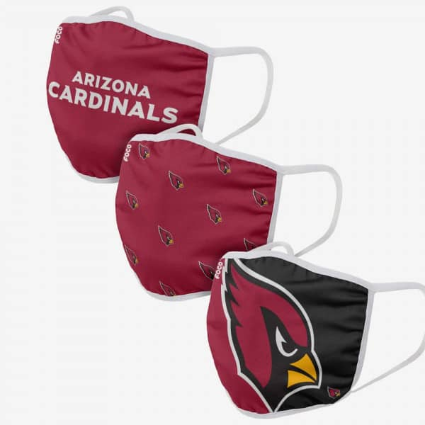Arizona Cardinals NFL Face Mask Mundschutz MNS (3er-Pack)