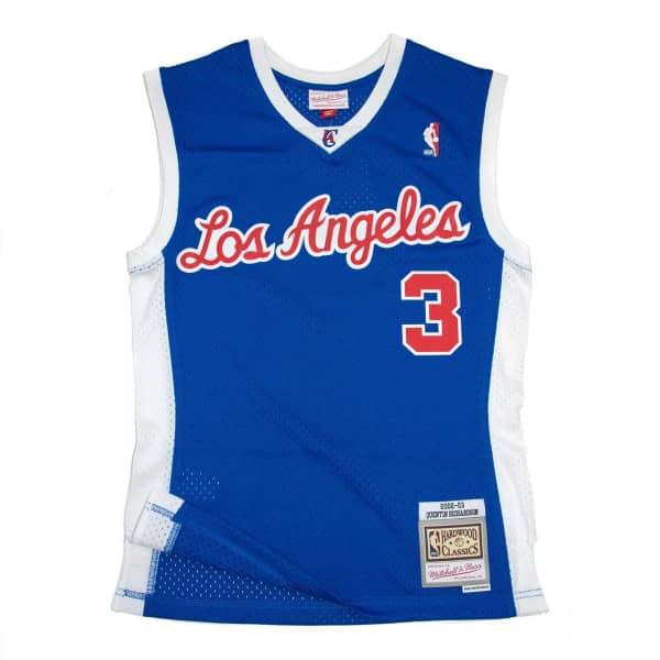 Quentin Richardson #3 Los Angeles Clippers 2002-03 Mitchell & Ness Swingman NBA Trikot Blau