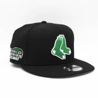 Boston Red Sox 2004 World Series Green Logo 9FIFTY MLB Snapback Cap