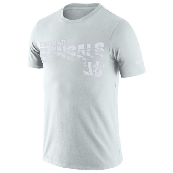 Cincinnati Bengals 2019 NFL Sideline Platinum T-Shirt
