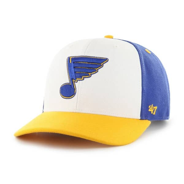 St. Louis Blues Cold Zone '47 MVP DP Snapback NHL Cap