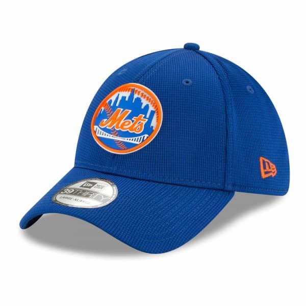 New York Mets 2021 MLB Authentic Clubhouse New Era 39THIRTY Flex Cap