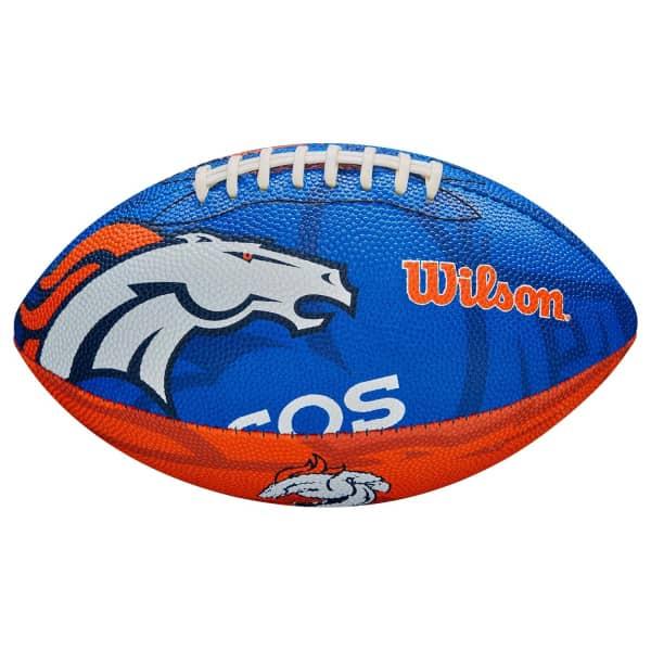 Denver Broncos Team Logo Junior NFL Football