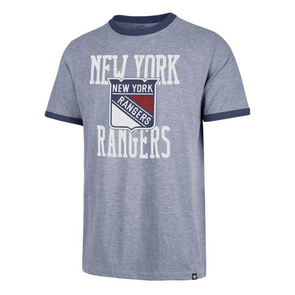 New York Rangers Belridge Ringer NHL T-Shirt