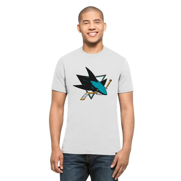 San Jose Sharks '47 Brand Splitter NHL T-Shirt Beige
