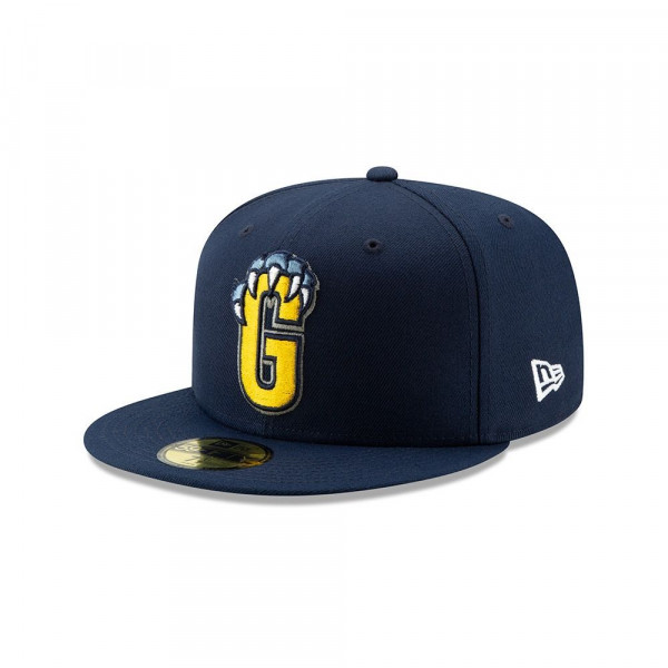 Memphis Grizzlies 2019 NBA Back Half 59FIFTY Fitted Cap