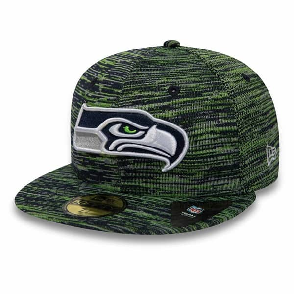 Seattle Seahawks Engineered 59FIFTY Fitted NFL Cap