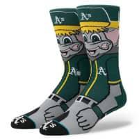 Oakland Athletics Stomper Maskottchen MLB Socken