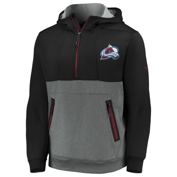Colorado Avalanche 2020/21 NHL Fanatics Authentic Pro Travel & Training Tech Hoodie