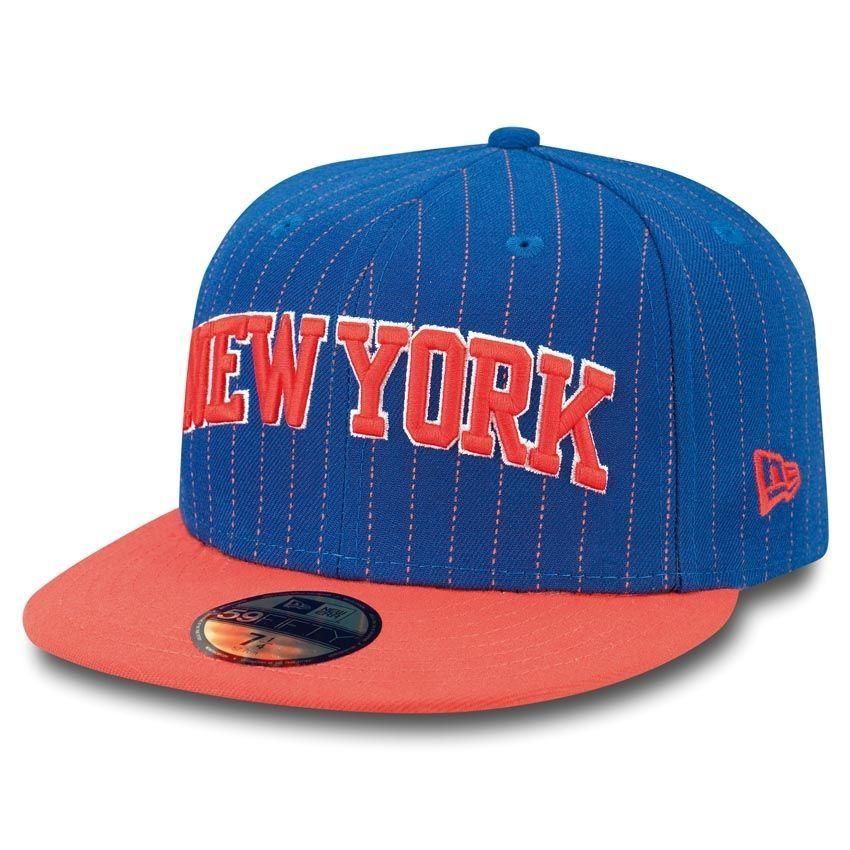 buy online 10559 2ae59 New Era New York Knicks Pin Crown 59FIFTY Fitted NBA Cap   TAASS.com Fan  Shop