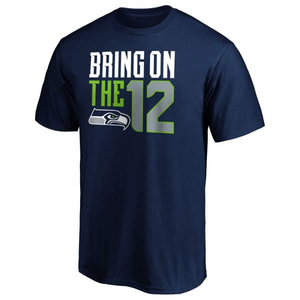 Seattle Seahawks BRING ON THE 12 NFL T-Shirt