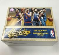 2015/16 Panini Absolute Basketball Hobby Box NBA