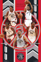 Toronto Raptors Team NBA Poster