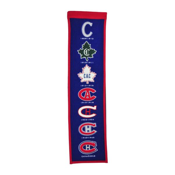 Montreal Canadiens NHL Premium Heritage Banner