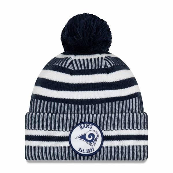Los Angeles Rams 2019 NFL Sideline Sport Knit Wintermütze Home