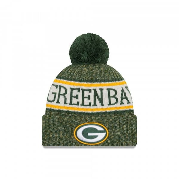 Green Bay Packers 2018 Sideline Sport Knit NFL Wintermütze