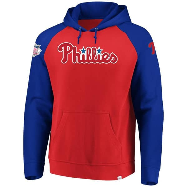 c8578b60e16 Majestic Philadelphia Phillies With Attitude MLB Hoodie Sweatshirt ...