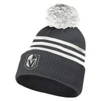 Vegas Golden Knights 2020/21 NHL adidas 3-Stripe Wintermütze