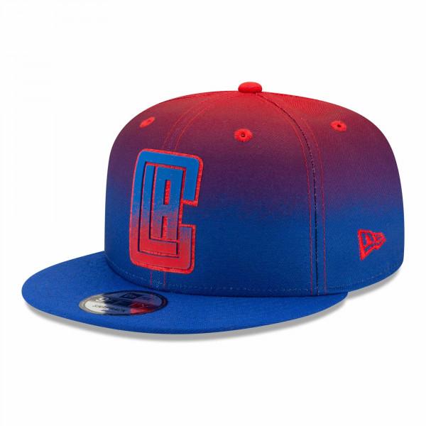 Los Angeles Clippers 2021 NBA Authentics Back Half New Era 9FIFTY Snapback Cap