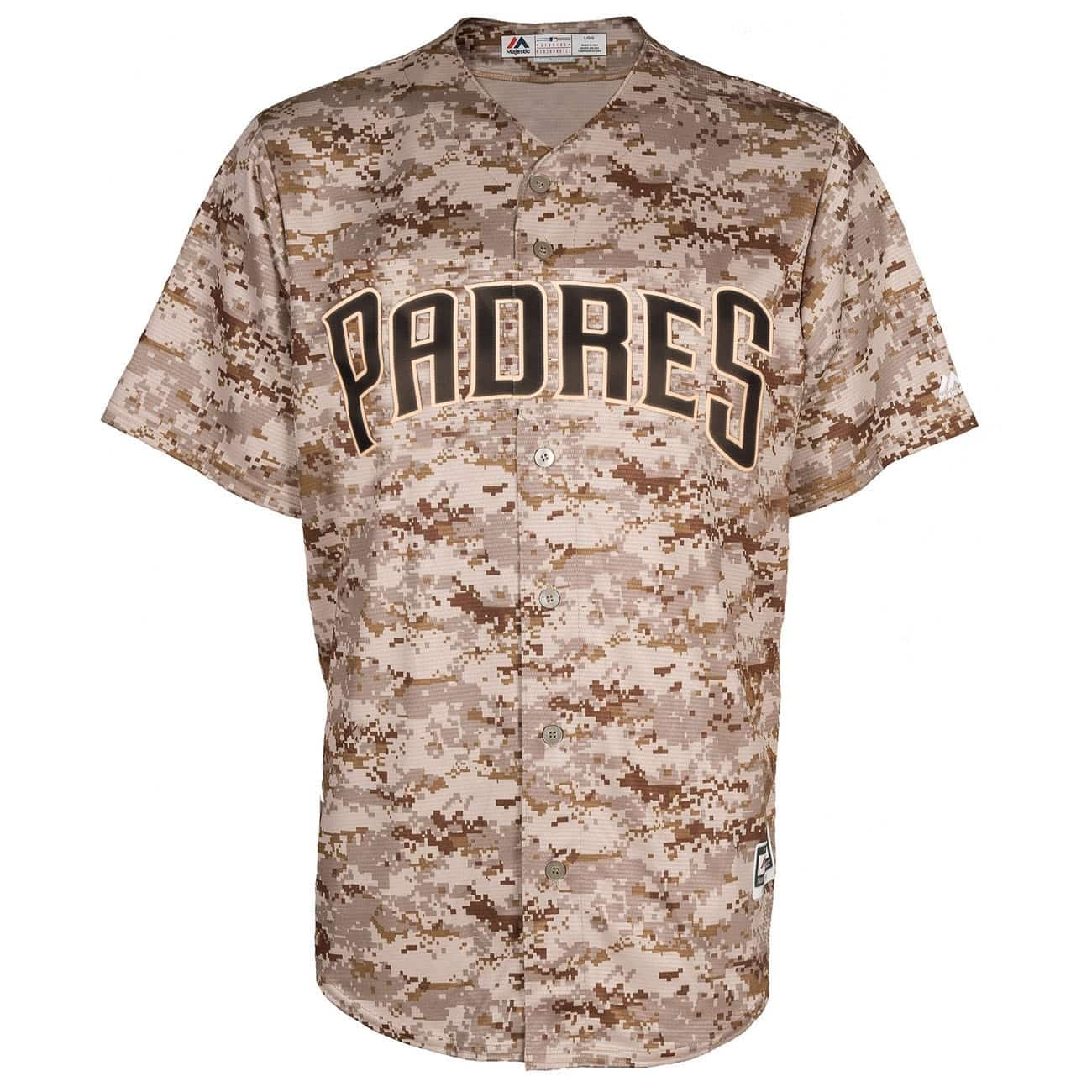 cheaper 4c1b2 b9478 Majestic San Diego Padres Cool Base MLB Jersey US Marines   TAASS.com Fan  Shop