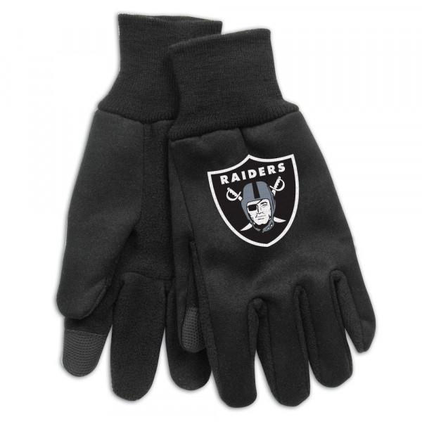 the latest fe31d 53a45 WinCraft Oakland Raiders Technology Touch-Screen NFL Gloves   TAASS.com Fan  Shop