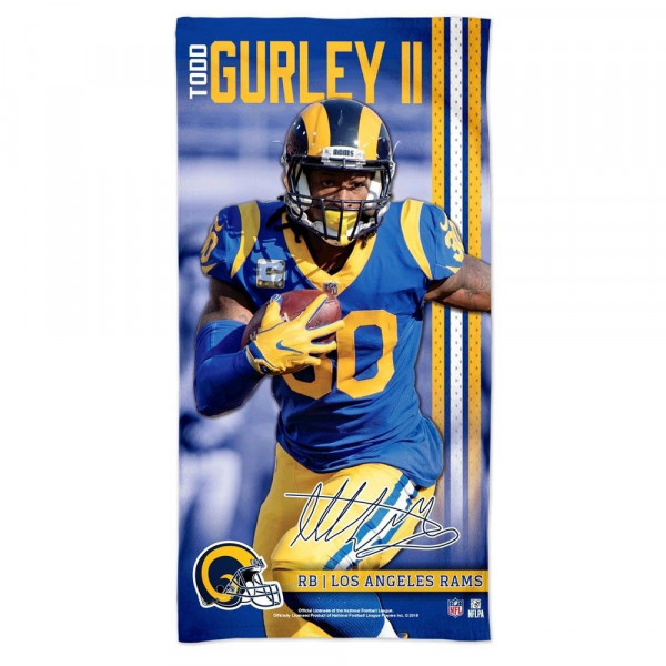 Todd Gurley II Los Angeles Rams Spectra NFL Strandtuch