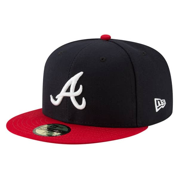 Atlanta Braves Authentic 59FIFTY Fitted MLB Cap Home