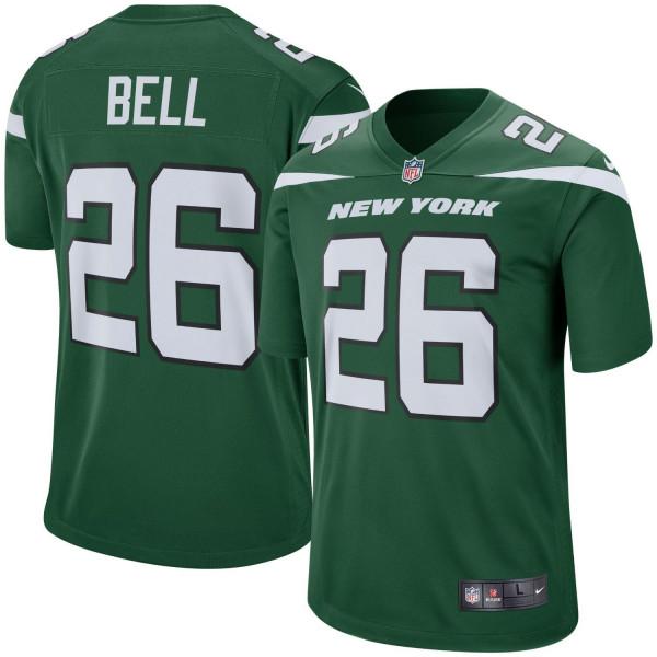 Le'Veon Bell #26 New York Jets Nike Game NFL Football Trikot Grün