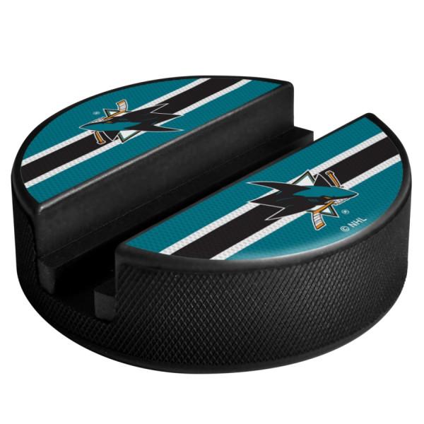 San Jose Sharks NHL Puck Media Device Holder