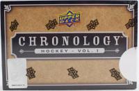 2018/19 Upper Deck Chronology Volume 1 Hockey Hobby Box NHL