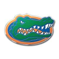 Florida Gators Aluminium Color NCAA Team Emblem