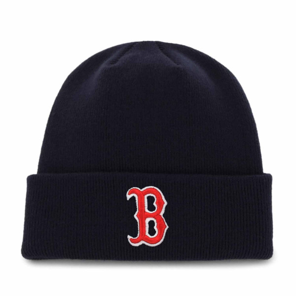 Boston Red Sox Cuffed Beanie MLB Wintermütze Navy