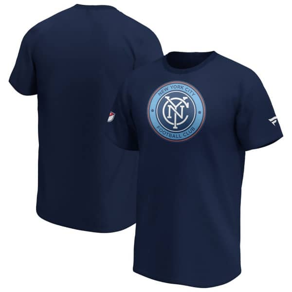 New York City FC Iconic Logo MLS T-Shirt