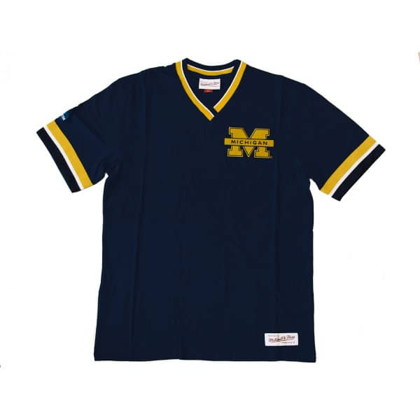 Michigan Wolverines Overtime Win Mitchell & Ness NCAA T-Shirt