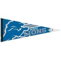 Detroit Lions Big Logo Premium NFL Wimpel