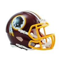 Washington Redskins American Football NFL Speed Mini Helm