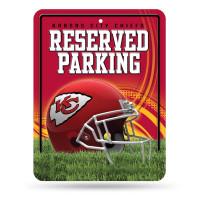 Kansas City Chiefs Reserved Parking NFL Metallschild