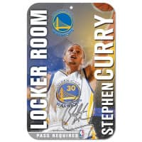 881c3587d774a WinCraft Steph Curry Golden State Warriors Locker Room NBA Sign ...