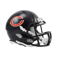 Chicago Bears American Football NFL Speed Mini Helm
