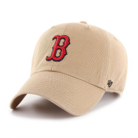 Boston Red Sox '47 Clean Up Adjustable MLB Cap Khaki