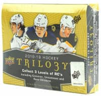 2018/19 Upper Deck Trilogy Hockey Hobby Box NHL