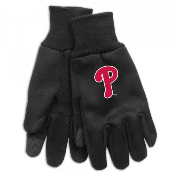 Philadelphia Phillies Technology Touch-Screen MLB Handschuhe